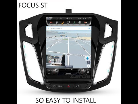 HOW TO INSTALL 10.4 TESLA STYLE TABLET FOR FOCUS ST