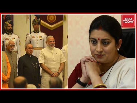 Major Changes In Narendra Modi's Cabinet, Smriti Irani Loses HRD Ministry,