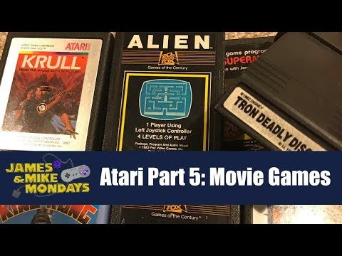 ATARI PART 5: Movie Games - James & Mike Mondays