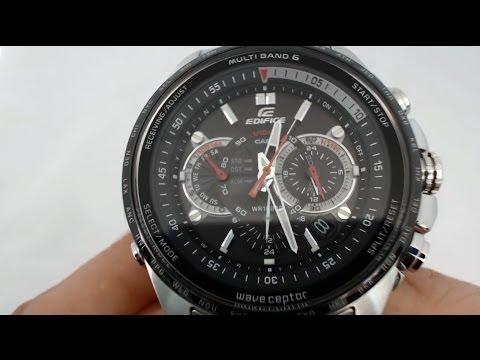 Casio edifice eqw-m710db-1a1er youtube.