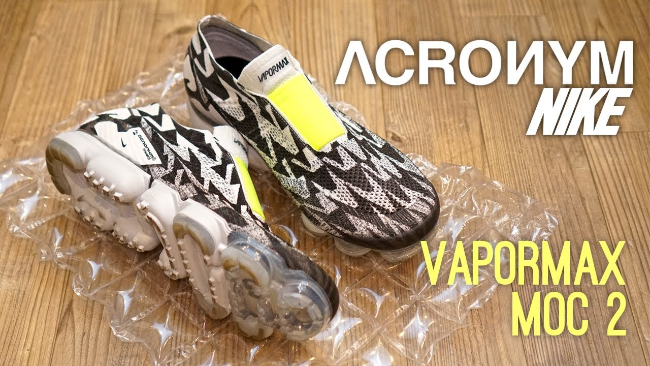 2a8407ef5dc34 Nike x Acronym Vapormax Moc 2 Overview - YouTube