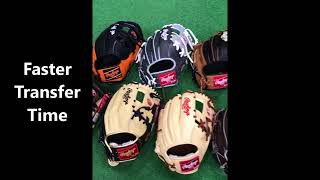 Why NP Pattern Rawlings Gloves are the way to go for Middle Infielders, Glove Review