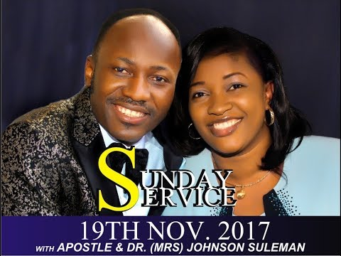 Int'l Men conference  2017 Thanksgiving Service With Apostle Johnson Suleman
