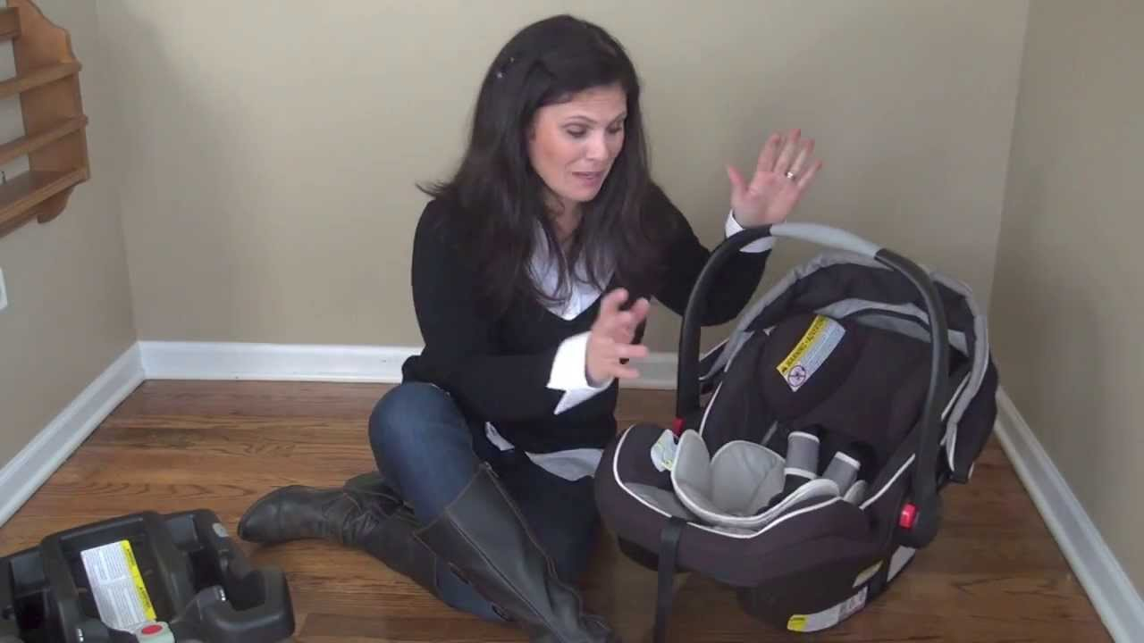 Graco Snugride Click Connect 35 Infant Car Seat Review - YouTube