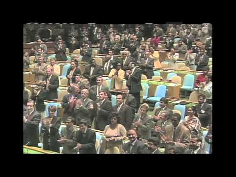 WorldLeadersTV: UN HONOURS NELSON MANDELA: FLAGS LOWERED