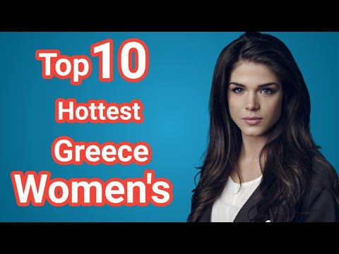 Top 10 most beautiful women of greece  |  greece | greek mythology | greeks | Sky World |  athens