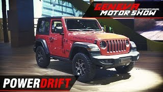 Jeep Wrangler - The iconic offroader just got better : Geneva Motor Show 2018 : PowerDrift