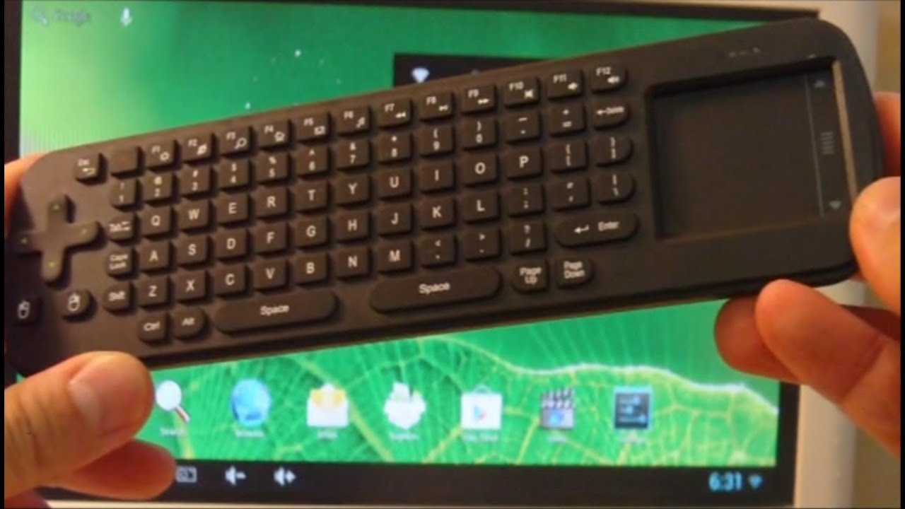 c3649fca9d5 Measy RC12 Air Mouse Keyboard Touchpad Unboxing & Test - Part 2 ...