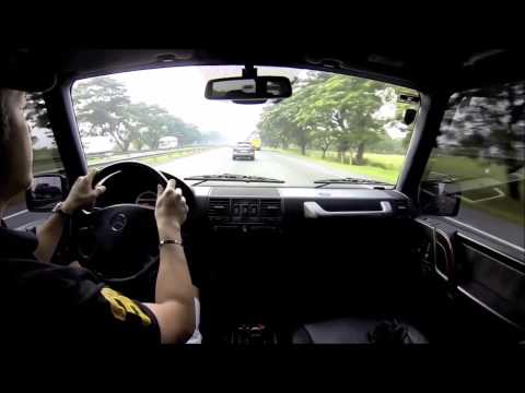 2003 Mercedes-Benz G55 AMG Supercharged  - POV TEST DRIVE