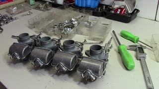 73 Honda Cb750 Custom Build Part 26  - Carburetor Rebuild