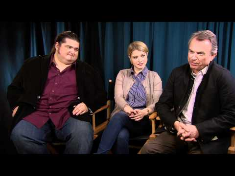 """""""Alcatraz"""" i- Jorge Garcia, Sarah Jones and Sam Neill"""
