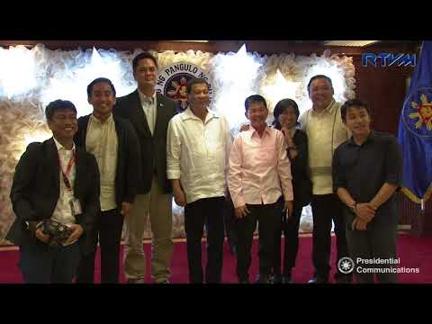 Malacañang Press Corps Christmas Party 12/12/2017