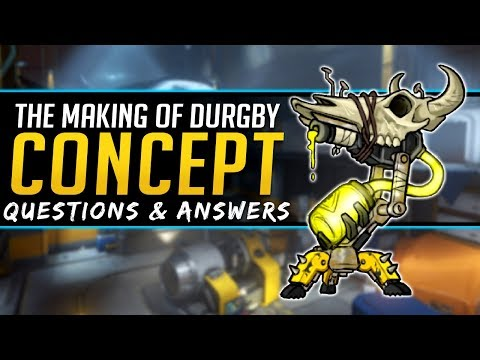 Overwatch Q&A - NEW Support Hero Durgby Concept - Junkertown Healer Lore, Abilities and More! thumbnail