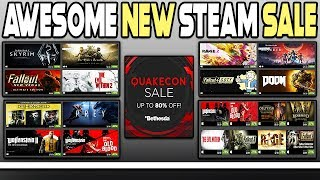 Awesome New Steam Sale   Great Deals On Bethesda Games!