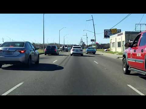 Westbank Expressway (US 90 BUSINESS from Interstate 910 to US 90) westbound