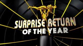 Surprise Return of the Year: 2015 WWE Slammy Awards - Tonight Live on Raw