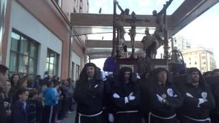 Semana Santa de Málaga 2014. Lunes Santo. Cofradía Dolores del Puente (6)