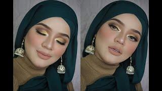 MUA Bellaz : Makeup Cut Crease Yellow Eyeshadow Memang Cantik Sangat, Wajib Tonton!