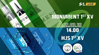 Monument 1st XV vs Paarl Boys' 1st XV - Noord Suid Rugby Toernooi