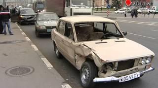 27 11 13 Не проскочил авария на Гагарина