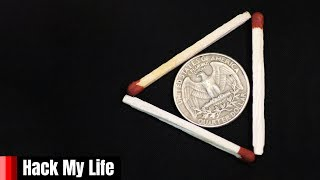 25 MATCHSTICK PUZZLE THAT WILL BLOW YOUR MIND IN 15 SECONDS
