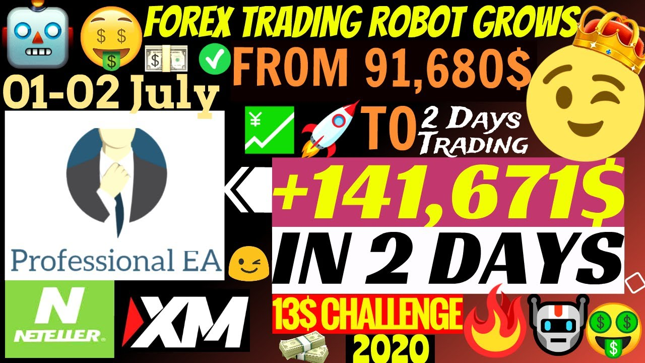 📈 Forex Trading Robot Live Profitable Account Grow To +141,671$ In 2 Days!!!🤑 | Professional EA