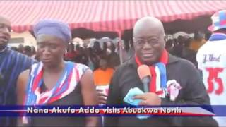 Campaigning in Abuakwa North ahead of March 29 by election