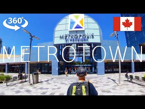Vancouver Walk In 360° - A Shopping Mall Walk Of Metropolis At Metrotown In Burnaby (2019)