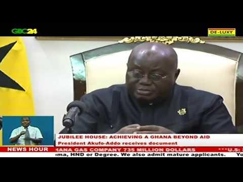 'Ghana Beyond Aid' agenda presented to President Akufo-Addo