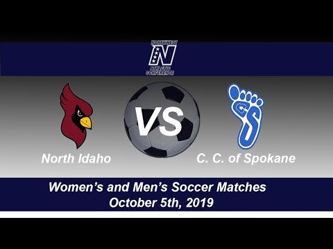 North Idaho College Women's and Men's Soccer host Community Colleges of Spokane