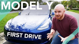 model Y Performance Handling, Launch & Noise - Full Driving Review