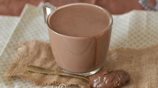 cioccolata calda alla nutella