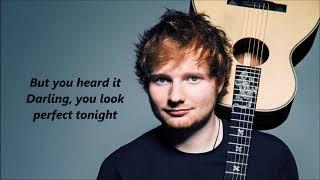 Ed Sheeran ft Beyonce- perfect with lyrics