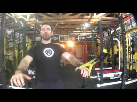 TRX Row Variations GTS Exercise Index