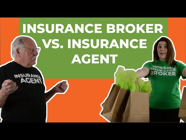 Insurance Broker vs. Insurance Agent - What's the difference?