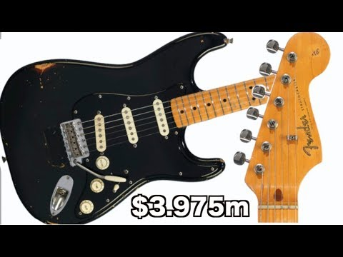 who-bought-david-gilmour's-black-strat?-|-2019-christie's-auction-highlights-/-reactions