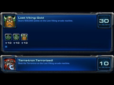 Starcraft 2 - Lost Viking - Achievements