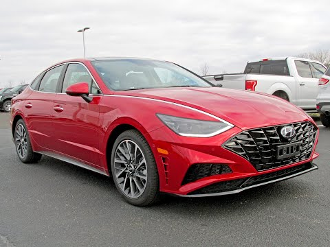 2020 Hyundai Sonata Limited Walk Around / Review! Wow! I think It's Cool!