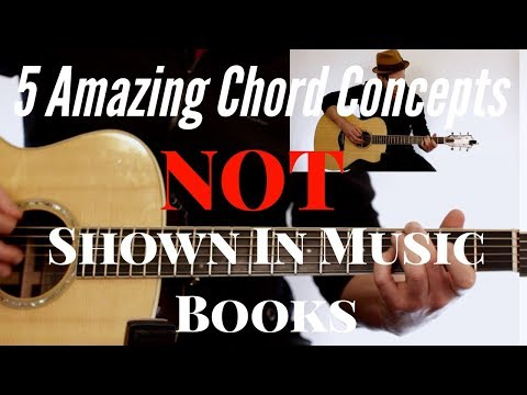 5 Amazing Chord Concepts NOT Shown in Music Books