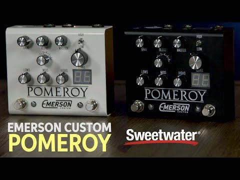 Emerson Custom Pomeroy Boost / Overdrive / Distortion Pedal Demo