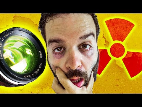 The HORRIFYING Truth about RADIOACTIVE Camera Lenses