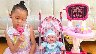 Sarang become a babysitter and takes care of the baby | Nastya,Diana,Ryan,Shfa