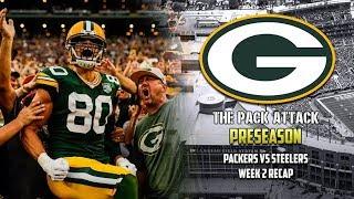 Green Bay Packers | Preseason | Packers vs Steelers Week 2 Recap