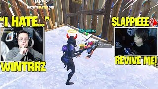 TSM Slappie Bullied Wintrrz & Trolling Him! | Fortnite Montage