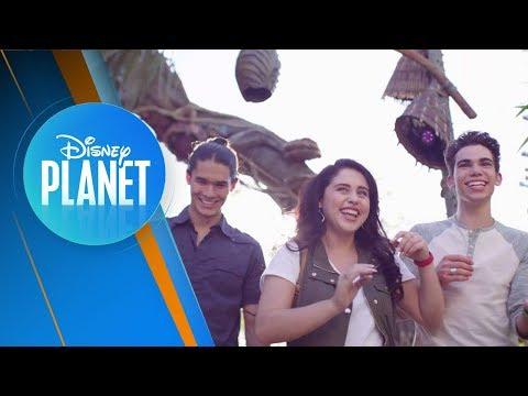 ¡Con los Descendientes Booboo, Cameron y Brenna en Walt Disney World Resort! | Disney Planet