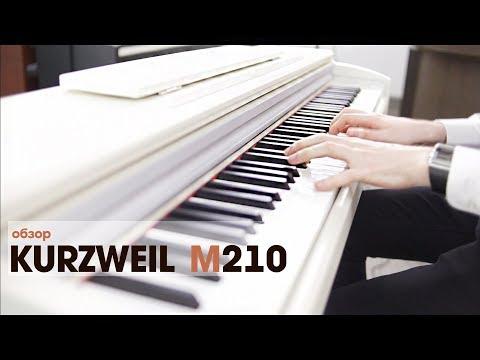 Цифровое пианино Kurzweil M210 - обзор