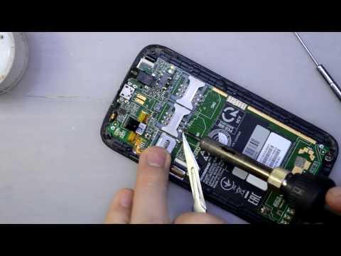 Lenovo A369i замена слота SIM карты