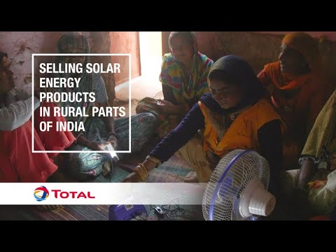 Selling solar energy products in rural parts of India | Sustainable Energy