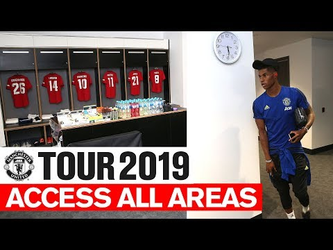 Manchester United | Tour 2019 | Access All Areas V Leeds | Greenwood, Rashford, Jones & Martial