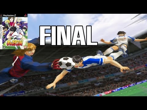 "Captain Tsubasa PS2 Final ""Super Campeones Oliver y Benji"" PS2 Final Road to World Cup 2002"
